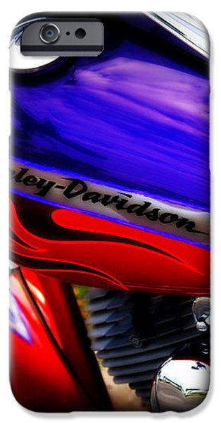 Harley Addiction iPhone Case by Susanne Van Hulst