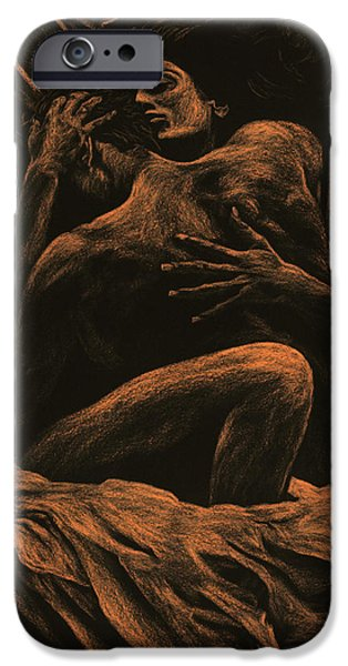 Contemporary Fine Art iPhone Cases - Harmony iPhone Case by Richard Young