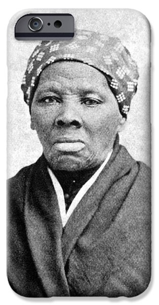 Abolition Movement iPhone Cases - Harriet Tubman (1823-1913) iPhone Case by Granger