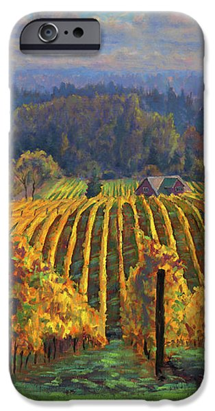 Harvest Gold iPhone Case by Michael Orwick
