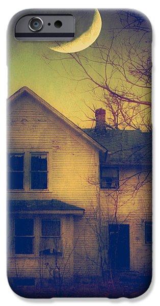Haunted House iPhone Case by Jill Battaglia