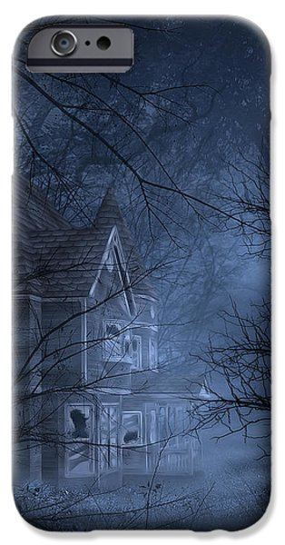 Haunted Place iPhone Case by Svetlana Sewell