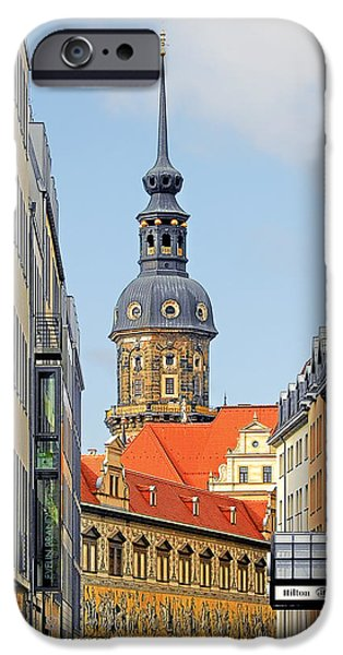 Hausmannsturm - Lookout of a castle with stunning views iPhone Case by Christine Till