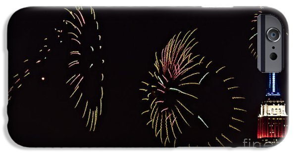 4th July iPhone Cases - Have a Fifth on the Fourth iPhone Case by Susan Candelario