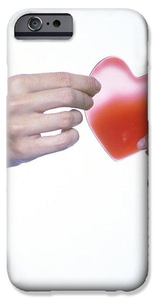 Healthy Heart, Conceptual Image iPhone Case by Cristina Pedrazzini