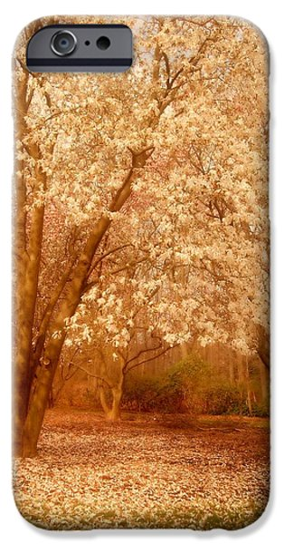 Hear the Silence - Holmdel Park iPhone Case by Angie Tirado