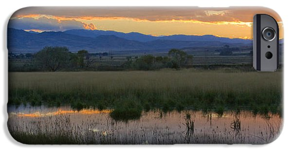Landscape. Scenic iPhone Cases - Heart Mountain Sunset iPhone Case by Idaho Scenic Images Linda Lantzy
