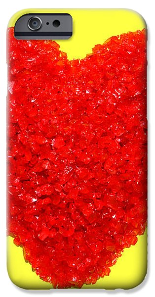 Heart of Glass iPhone Case by Olivier Le Queinec