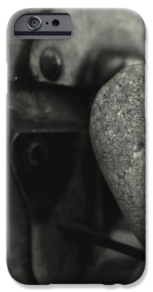 Heart Rock iPhone Case by Toni Hopper