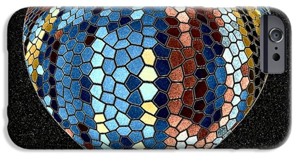 Sensitivity iPhone Cases - Heartline 4 iPhone Case by Will Borden