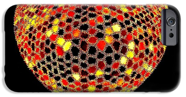 Sensitivity iPhone Cases - Heartline 7 iPhone Case by Will Borden