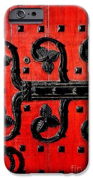 Heinz Chapel Door Detail iPhone Case by Thomas R Fletcher