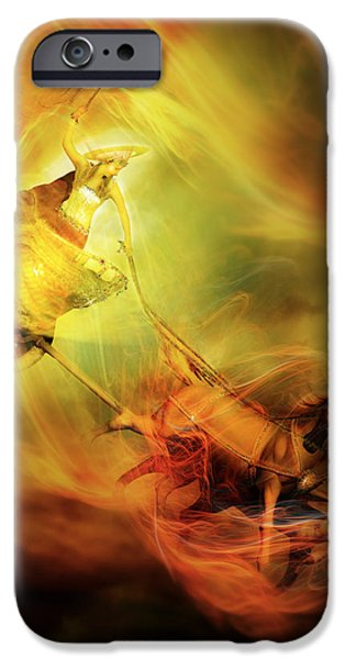 Planet iPhone Cases - Helio iPhone Case by Karen H