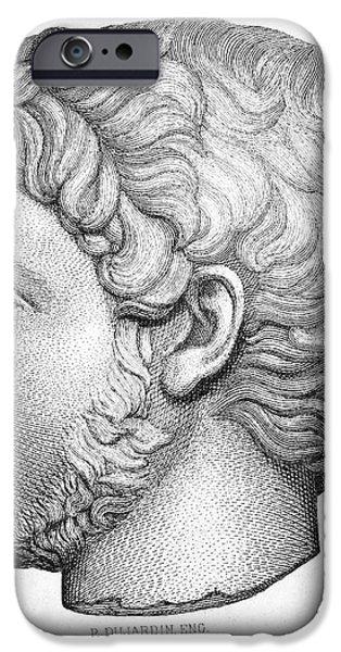 HELIOGABALUS (204-222) iPhone Case by Granger