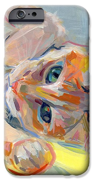 Hello Kitty iPhone Case by Kimberly Santini