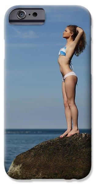 Bathing iPhone Cases - Hello Sun iPhone Case by Rick Berk