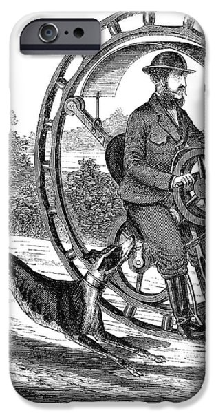 HEMMINGS UNICYCLE, 1869 iPhone Case by Granger