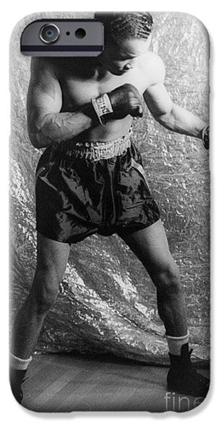 HENRY ARMSTRONG (1912-1988) iPhone Case by Granger