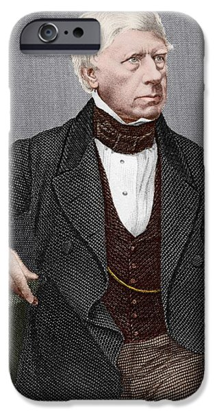 Henry Brougham, Scottish Lawyer iPhone Case by Sheila Terry