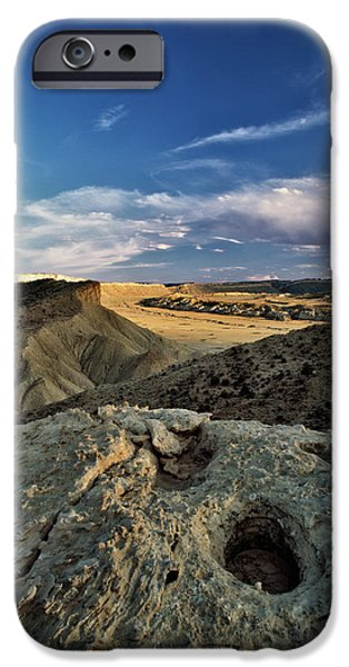 Henry Mountain WSA iPhone Case by Leland D Howard