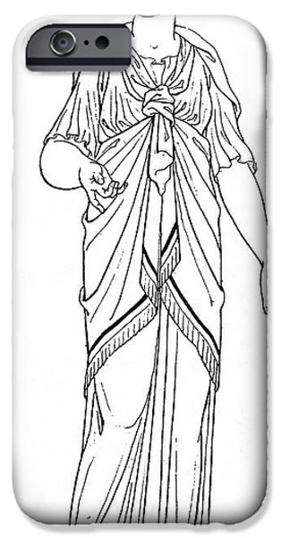 Hera iPhone Cases - Hera (juno) iPhone Case by Granger