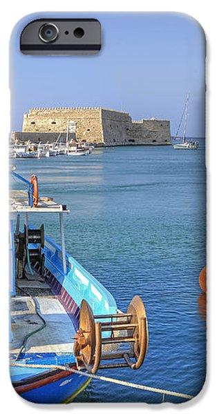 Heraklion - Venetian fortress - Crete iPhone Case by Joana Kruse