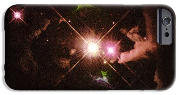Jet Star iPhone Cases - Herbig-haro 32 iPhone Case by Space Telescope Science Institute / NASA