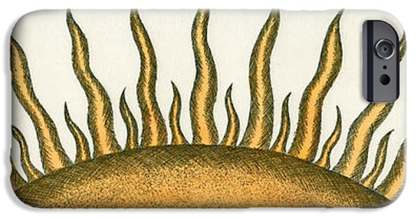 Eyebrow iPhone Cases - Here Comes the Sun iPhone Case by Charles Harden