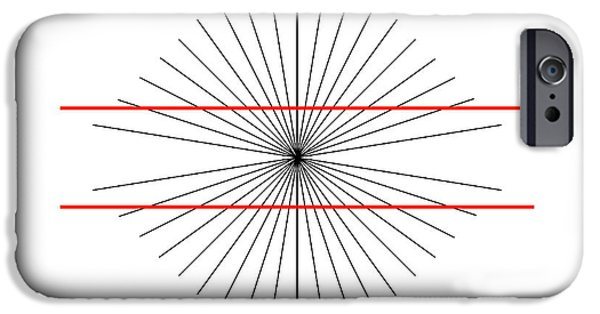 Visual iPhone Cases - Hering Illusion iPhone Case by
