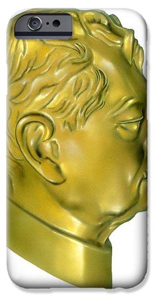 V2 Rocket iPhone Cases - Hermann Oberth, German Rocket Pioneer iPhone Case by Detlev Van Ravenswaay