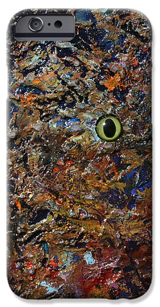 Hiding iPhone Case by James W Johnson