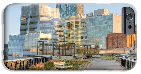 Recently Sold -  - Empire State iPhone Cases - High Line Park I iPhone Case by Clarence Holmes
