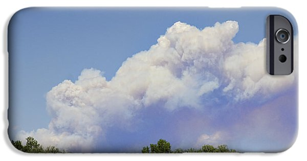 High Park Fire iPhone Cases - High Park Fire Larimer County Colorado  iPhone Case by James BO  Insogna