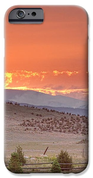 High Park Wildfire at Sunset iPhone Case by James BO  Insogna
