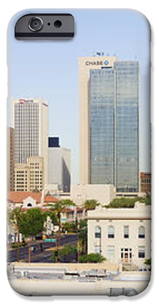 High Rise Buildings of Downtown Phoenix iPhone Case by Jeremy Woodhouse