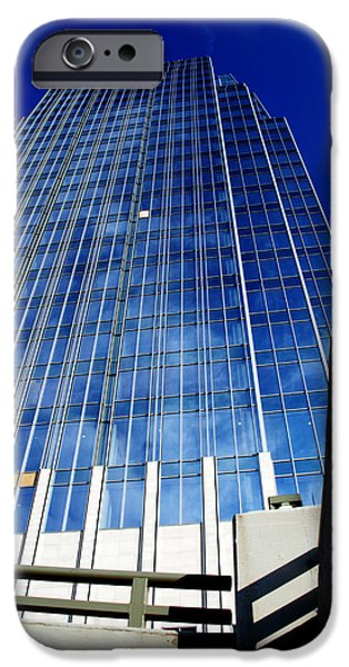 Nashville Architecture iPhone Cases - High up to the sky iPhone Case by Susanne Van Hulst