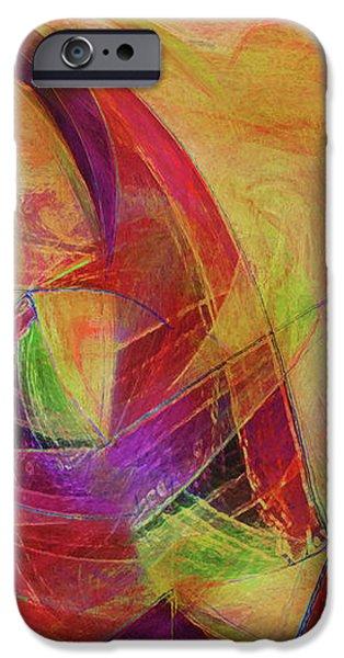 High Vibrational iPhone Case by Linda Sannuti