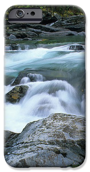Highwood River iPhone Case by Bob Christopher