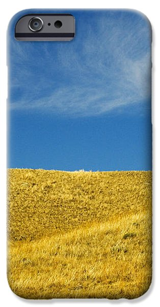 Hills And Clouds, Cypress Hills iPhone Case by Mike Grandmailson