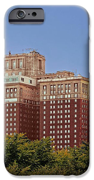 Hilton Chicago and Blackstone Hotel iPhone Case by Christine Till