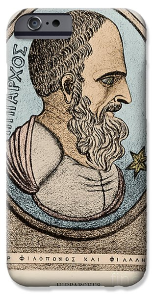 Observer iPhone Cases - Hipparchus, Greek Astronomer iPhone Case by Photo Researchers, Inc.