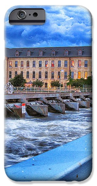 Historic Fox River Mills iPhone Case by Shutter Happens Photography