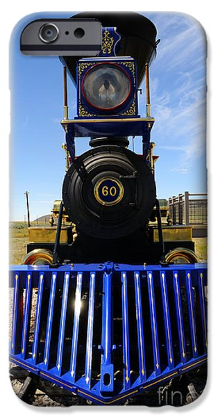 Historic Jupiter Steam Locomotive iPhone Case by Gary Whitton