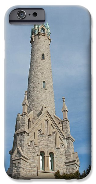 Historic Milwaukee Water Tower iPhone Case by Ann Horn