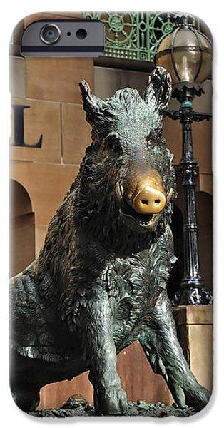 Historic Sydney Hospital - Florentine Boar iPhone Case by Kaye Menner