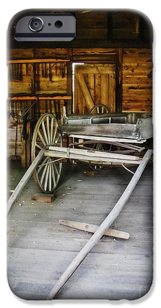 Hitch Your Wagon iPhone Case by Colleen Kammerer
