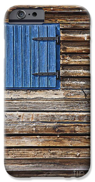 Cabin Window iPhone Cases - Home - Sweet Home iPhone Case by Heiko Koehrer-Wagner