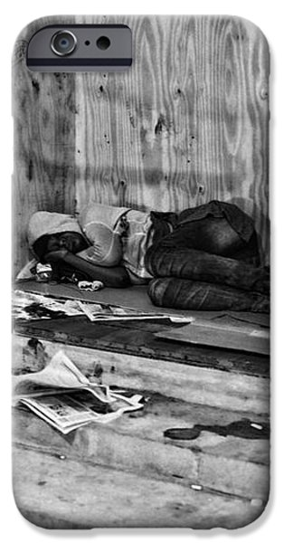 Homeless iPhone Case by Paul Ward