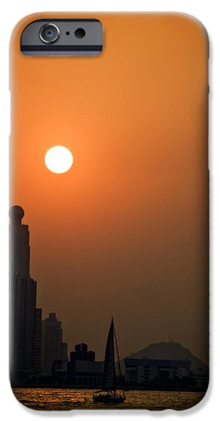 Hong Kong Coast iPhone Case by Ray Laskowitz - Printscapes