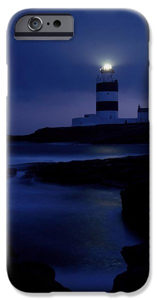 Cummins iPhone Cases - Hook Head Lighthouse, County Wexford iPhone Case by Richard Cummins